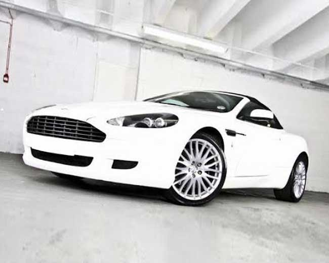 Aston Martin Volante Hire in UK