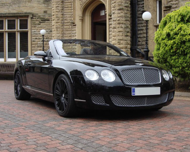 Bentley Continental Hire in UK