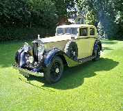 1935 Rolls Royce Phantom in Tredegar