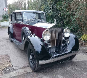 1937 Rolls Royce Phantom in Pwllheli