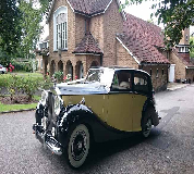 1950 Rolls Royce Silver Wraith in Queenborough