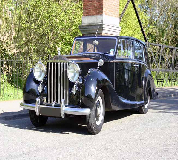 1952 Rolls Royce Silver Wraith in North Tawton