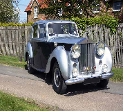 1954 Rolls Royce Silver Dawn in London City Airport