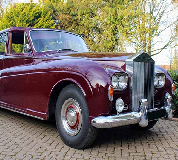 1960 Rolls Royce Phantom in Newquay