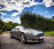 Aston Martin DB9 Hire in Aberdeen Airport