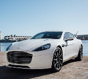 Aston Martin Rapide Hire in Golbourne