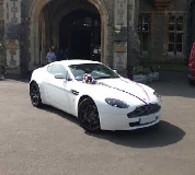 Aston Martin Vantage Hire  in Talgarth