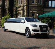 Audi Q7 Limo in Newbiggin by the Sea