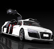 Audi R8 Limo Hire in Shaw and Crompton
