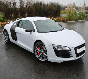 Audi R8 Hire in Shaw and Crompton