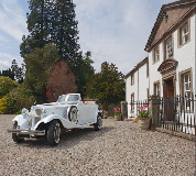 1930 Beauford Open Tourer in St Just