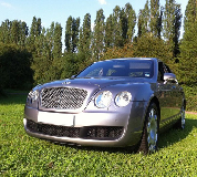 Bentley Continental GT Hire in Staveley