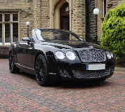 Bentley Continental Hire in Leeds Bradford Airport