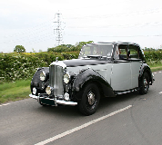Bentley MK VI Hire in Hay on Wye