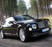 Bentley Mulsanne in Longtown