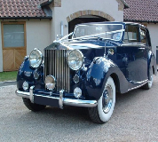 Blue Baron - Rolls Royce Silver Wraith Hire in Talgarth