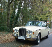 Duchess - Rolls Royce Silver Shadow Hire in London City Airport