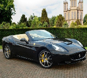 Ferrari California Hire in Market Harborough