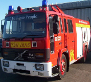 Fire Engine Hire in Aberdeen Airport