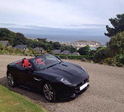 Jaguar F Type Hire in Wales