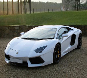 Lamborghini Aventador Hire in Welshpool