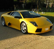 Lamborghini Murcielago Hire in Belfast City Airport