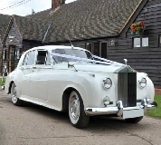 Marquees - Rolls Royce Silver Cloud Hire in London City Airport