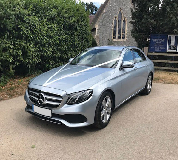 Mercedes E220 in North London