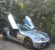 Mercedes Mclaren SLR Hire in Abergele