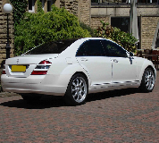 Mercedes S Class Hire in Porth
