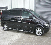 Mercedes Viano Hire in New Romney