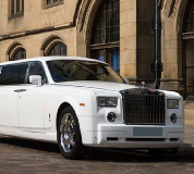 Rolls Royce Phantom Limo in Llanfyllin