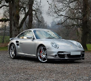 Porsche 911 Turbo Hire in East Midlands Airport