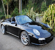Porsche Carrera S Convertible Hire in Stanhope