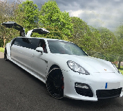 Porsche Panamera Limousine in Stansted Airport
