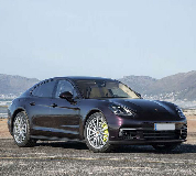 Porsche Panamera Hire in Heckmondwike
