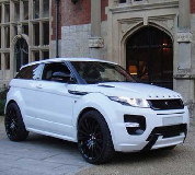 Range Rover Evoque Hire in London City Airport