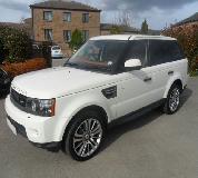 Range Rover HSE Sport Hire in Staveley