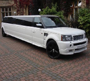 Range Rover Limo in Carrog