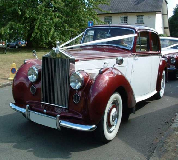 Regal Lady - Rolls Royce Silver Dawn Hire in Cwmbran