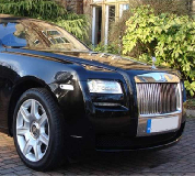 Rolls Royce Ghost - Black Hire in Wales