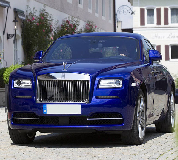 Rolls Royce Ghost - Blue Hire in Abergele