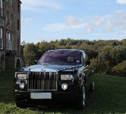 Rolls Royce Phantom - Black Hire in Laugharne