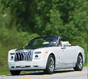 Rolls Royce Phantom Drophead Coupe Hire in Carrog