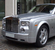 Rolls Royce Phantom - Silver Hire in New Romney