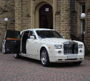 Rolls Royce Phantom Hire in Stanhope