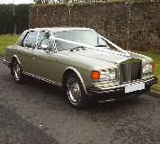 Rolls Royce Silver Spirit Hire in East Cowes