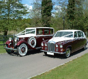 Ruby Baroness - Daimler Hire in Llanfyllin