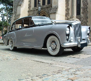 Silver Lady - Bentley Hire in Madeley