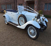 1927 Vintage Soft Top Rolls Royce in Golbourne